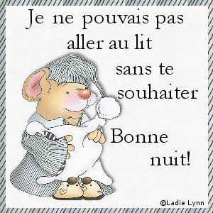 Image Bonne Nuit bonne nuit mes amis - la cuisine des minis